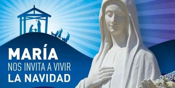 """Retiro virtual de Adviento – """"María nos invita a vivir la Navidad"""""""