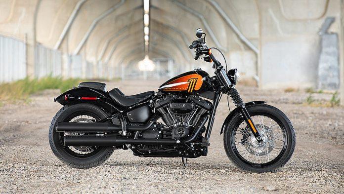 Harley-Davidson Street Bob 114.