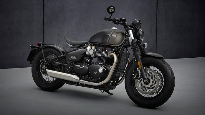 New Bonneville Bobber