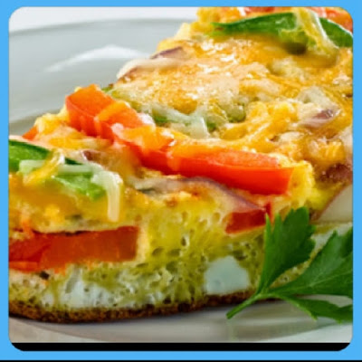 Tortilla de Vegetales con Huevo