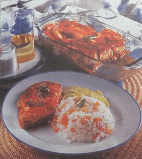 Bifes de Gluten a Caballo