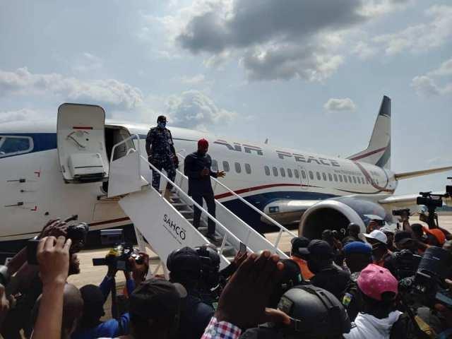 Air Peace lands at Anambra Airport