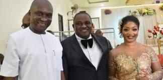 Hon. Okoroafor and Abia Assembly Speaker