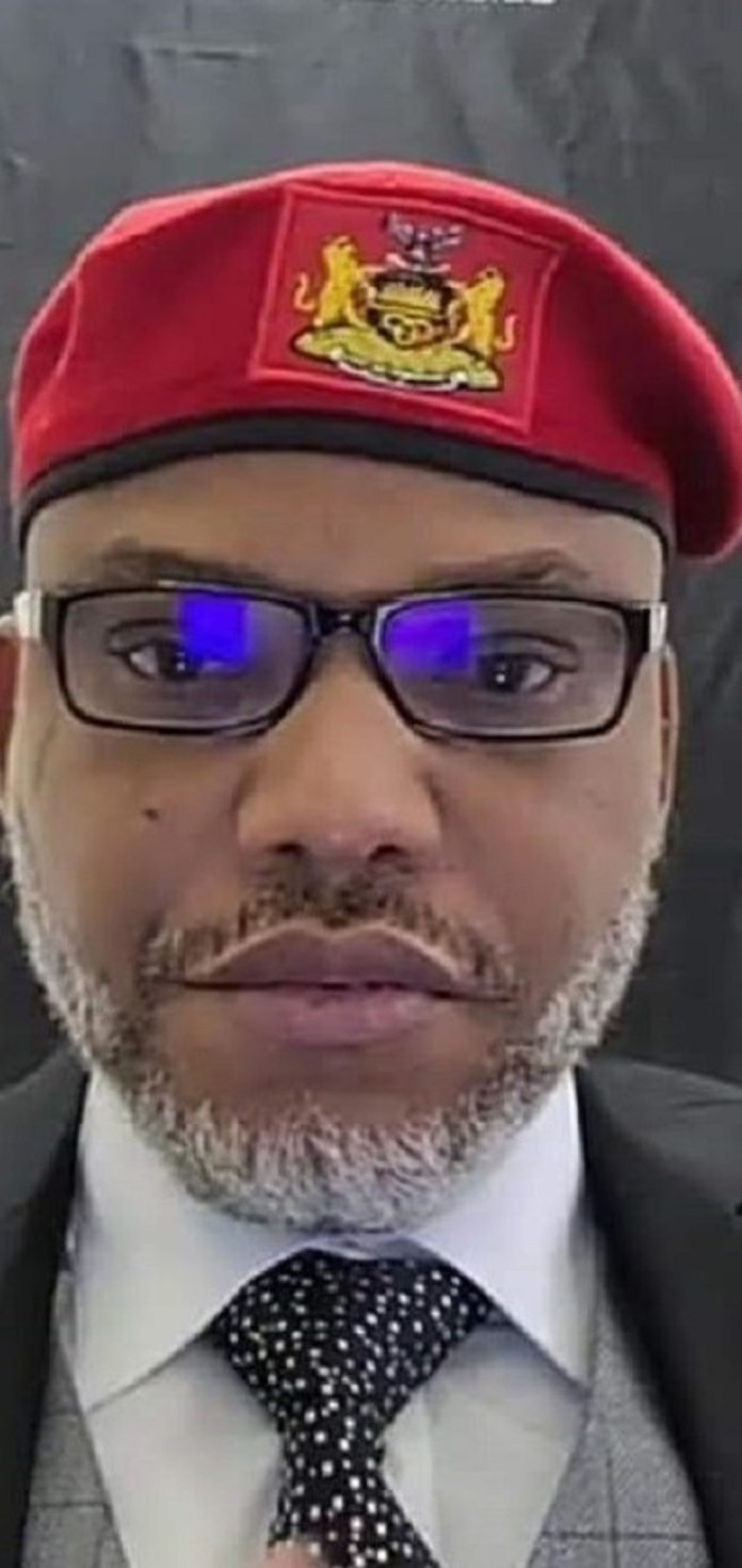 Nnamdi Kanu's case Against Federal Government Comes Up Tomorrow