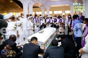 Prophet T.B Joshua Unites The World In Death (Pictures of Final Rest Attached)