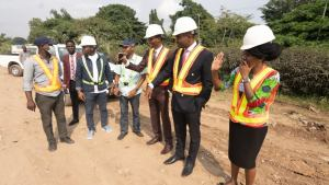 Winners Chapel Begins Construction Work On Road Leading To Its Headquarters