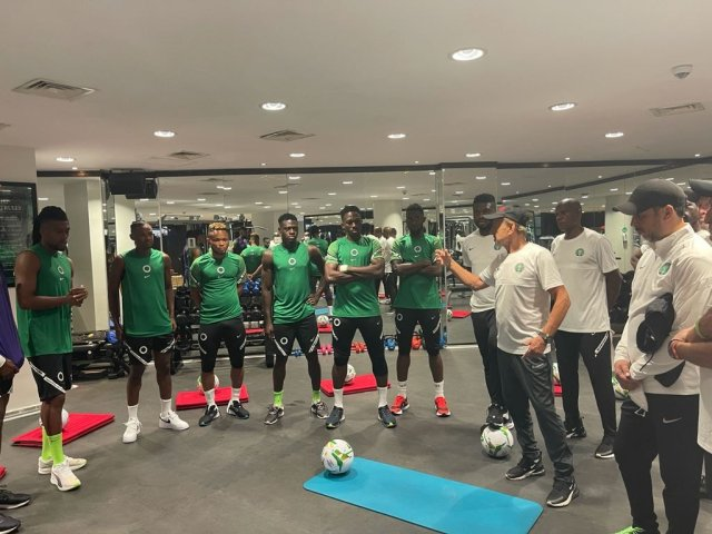 Eko Gym Row: Super Eagles Deny Being Ejected Out of GYM