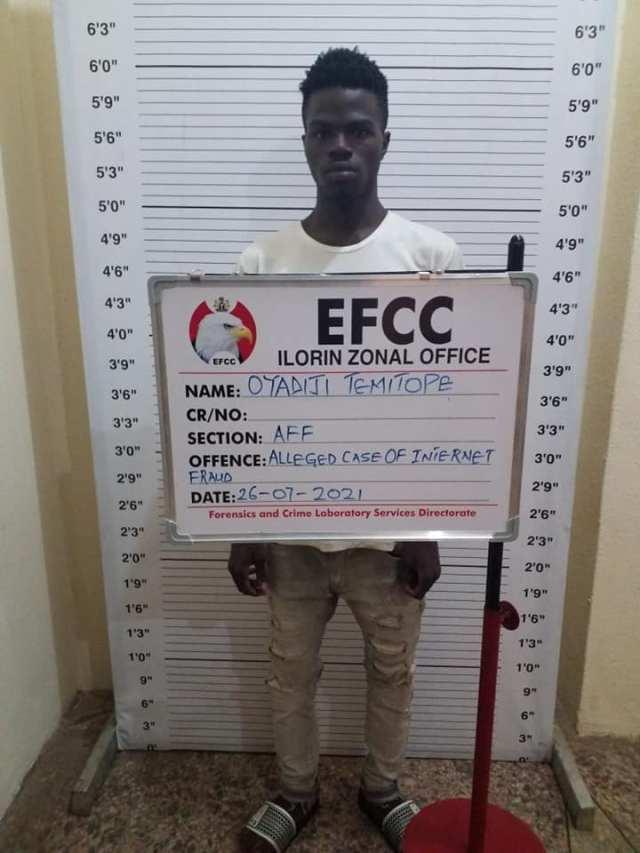 Justice Sikiru Oyinloye of the Kwara State High Court, Ilorin convicted and sentenced one Oyadiji Temitope Ridwan, a student of Kwara State