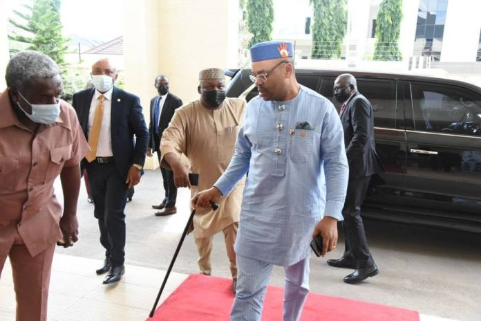 PDP Governors In Crucial Meeting To Save The Soul Of Party Ahead Of NEC