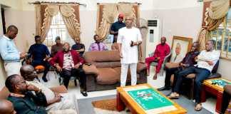 Abia Speaker Visits Bereaved families of Ironsi, Michael Okpara, Agbazuere, Mpama and Joshua Ezebuiro