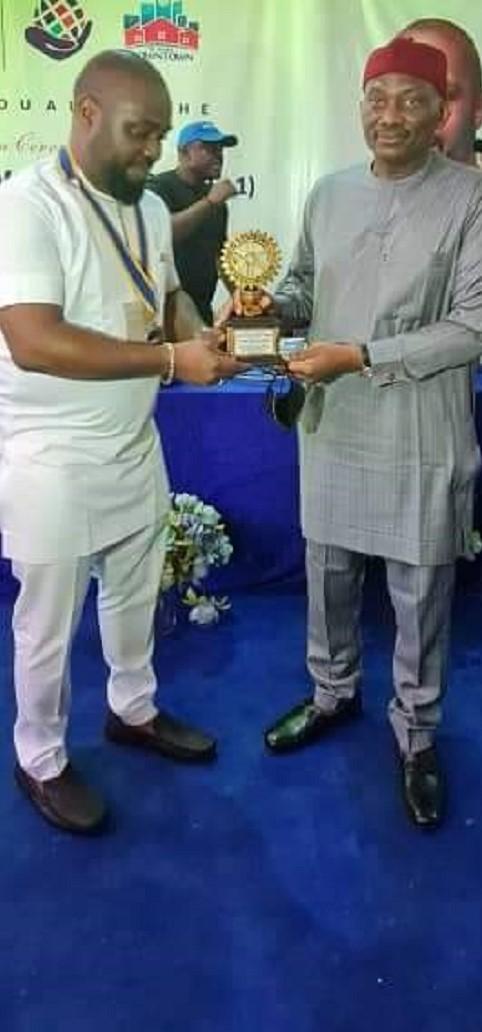 Rotary Club Honours House of Reps Minority Leader, Hon. Elumelu
