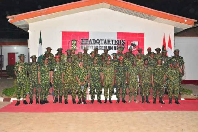 COAS Charges Troops To Be At Alert