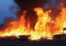 Over 20 Shops razed down in Enugu Market Inferno