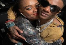 Wizkid Reunites With Sister Two Years After