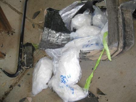 Metanfeminas decomisadas por el CBP este fin de semana en Nogales.