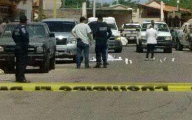 La ejecución se dio esta tarde en una calle de la colonia Casa Blanca.