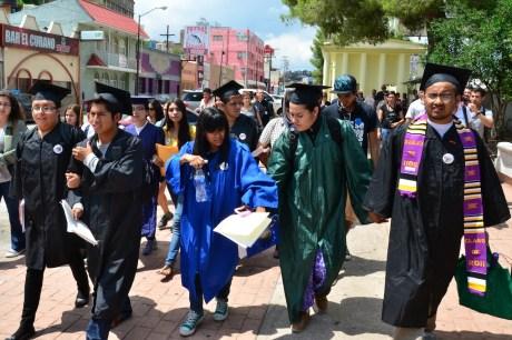 Los jóvenes fueron detenidos en la garita de Nogales.