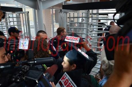 Los ocho estudiantes mexicanos ingresaron de manera ilegal hacia Estados Unidos, por la garita peatonal Morley.