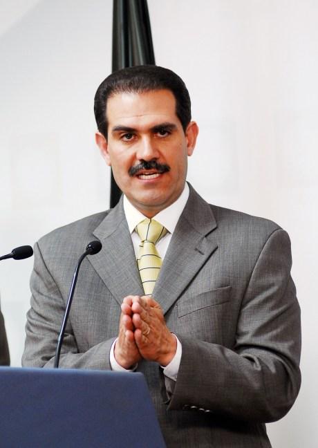 El gobernador sonorense, Guillermo Padrés.