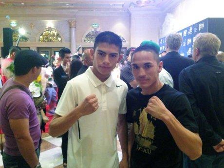 Los boxeadores sonorenses Ortega y Estrada, listos para sus combates en China.