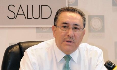El Dr. Sergio Olvera Alba, titular de Epidemiologia de la Secretaria de Salud.