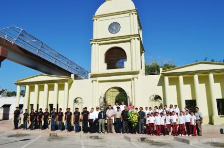 Conmemora Gobierno Municipal la Gesta Heroica del 27 de Agosto.