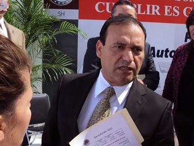 El alcalde de Hermosillo, Alejandro López Caballero.