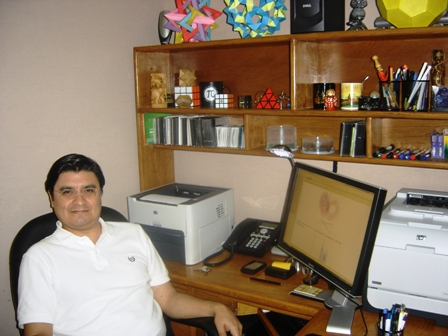 El profesor Guillermo Dávila Rascón.