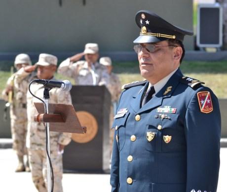 El General  de Brigada Diplomado de Estado Mayor, Hilario Miguel Mata Tinoco.