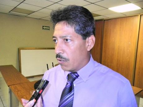 El titular del área de Procesos Industriales de la UTN, profesor Mario Javier Nieblas Núñez.