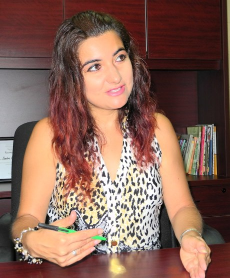 La delegada de la SEC, Sandra Hernández Barajas.