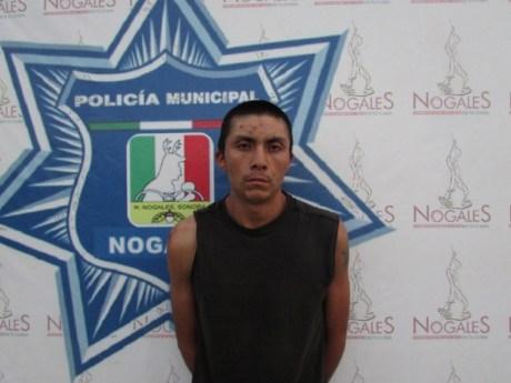 El sujeto fue detenido por elementos municipales.