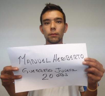 MANUEL HERIBERTO GUERRERO JUVERA, PROBABLE RESPONSABLE DEL DELITO DE EXTORSIÓN.