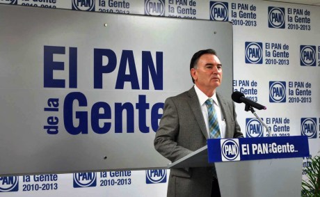 Juan Bautista Valencia Durazo, dirigente estatal del PAN.