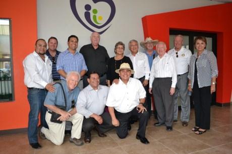 Recibe RGM visita de autoridades del Club Rotario del estado de Arizona.