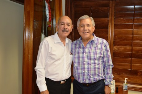 Se reúne RGM con Delegado del Infonavit en Sonora.
