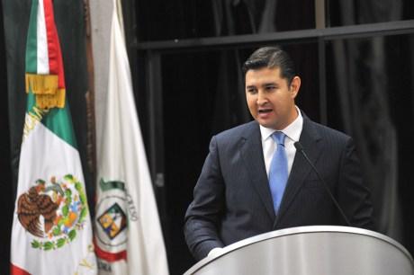 El diputado Javier Neblina, del PAN.