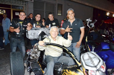 """Asiste Alcalde a """"Concentración Nogales Bikers""""."""
