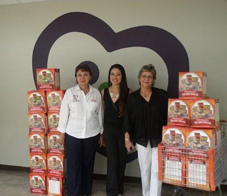 El DIF Municipal recibió donativos.