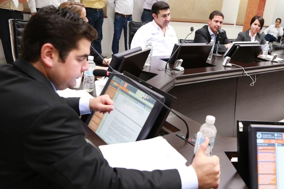 La Comisión de Atención a Grupos Vulnerables sesionó esta tarde.