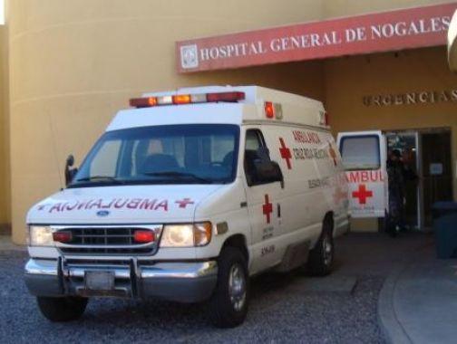 La persona lesionada fue trasladada en una unidad de la Cruz Roja.