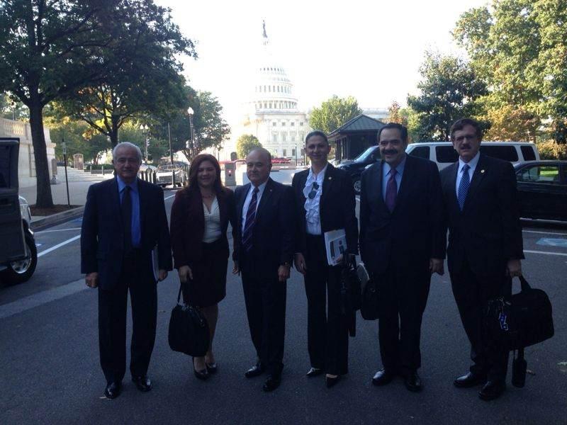 La Senadora originaria de Nogales de visita en Washington.