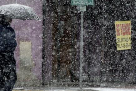 En Sonora pronostican aguanieve o nevadas por frente frío 13