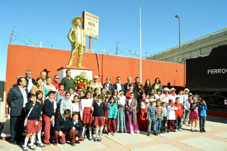 Conmemora Ayuntamiento aniversario de la gesta heroica de Jesús García.