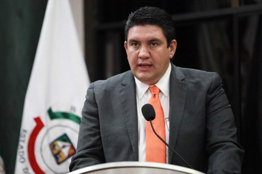El diputado Humberto Robles Pompa.