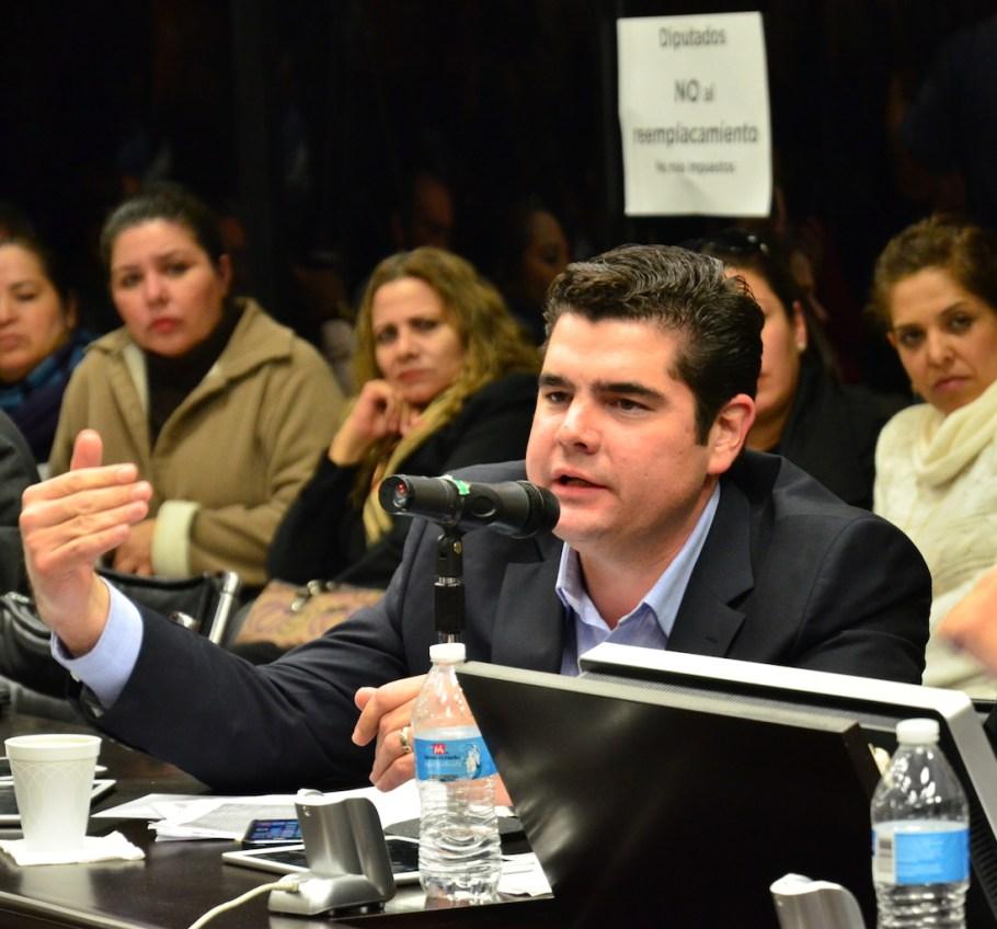 El diputado Alejandro García Rosas.