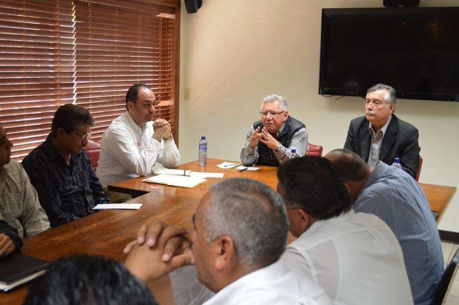 Agradece Director del Transporte en Sonora intervención del Alcalde para solución de conflicto.