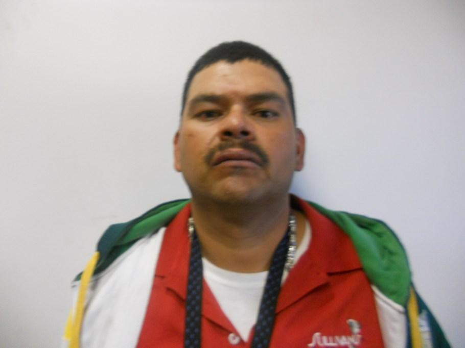 José Alfredo López Vásquez, detenido con  orden de reaprensión por robo.