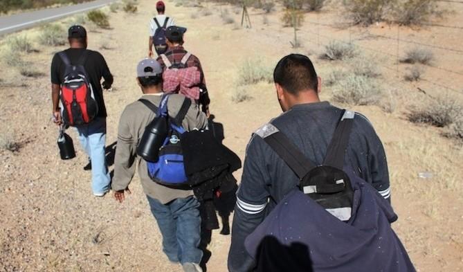 Migrantes deportados.