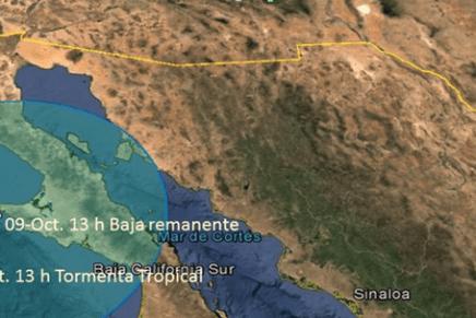 Dejará lluvias fuertes en zonas de Sonora el huracán «Simón», ya es categoría IV